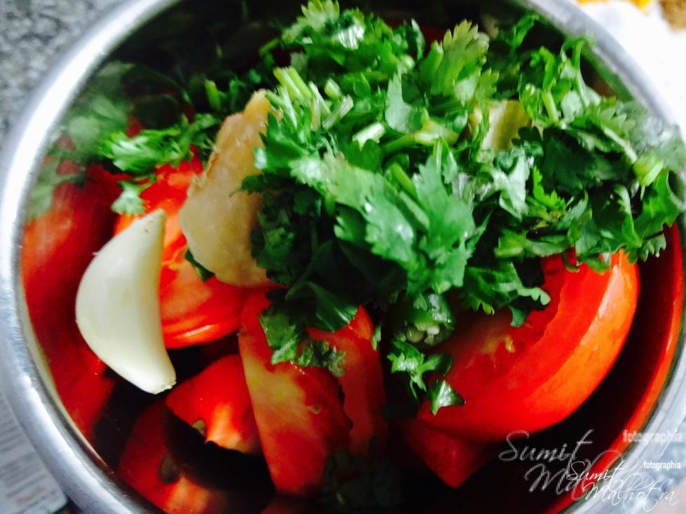 Add coriander