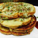 Garlic masala eggy bread
