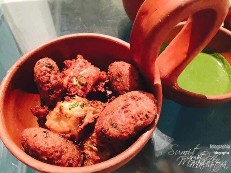 Meat Pakora Basket