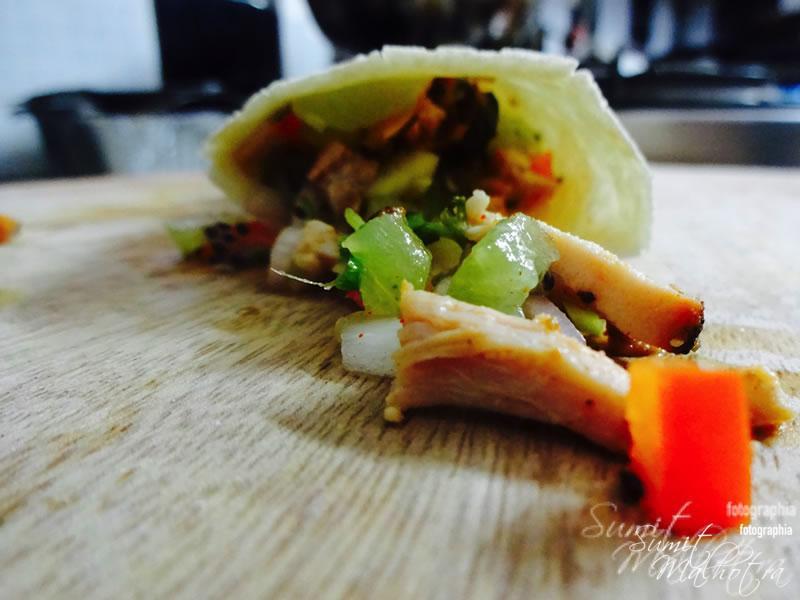 Tandoori Chicken Burrito