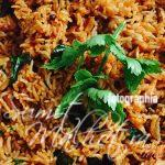 Tomato rice is ready to be served