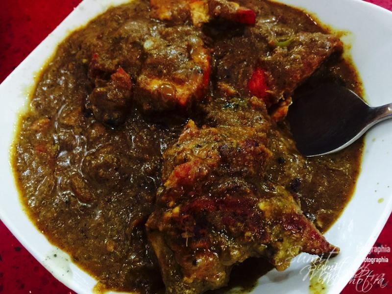 Chicken Chettinad @ Hotel Malabar Gurgaon