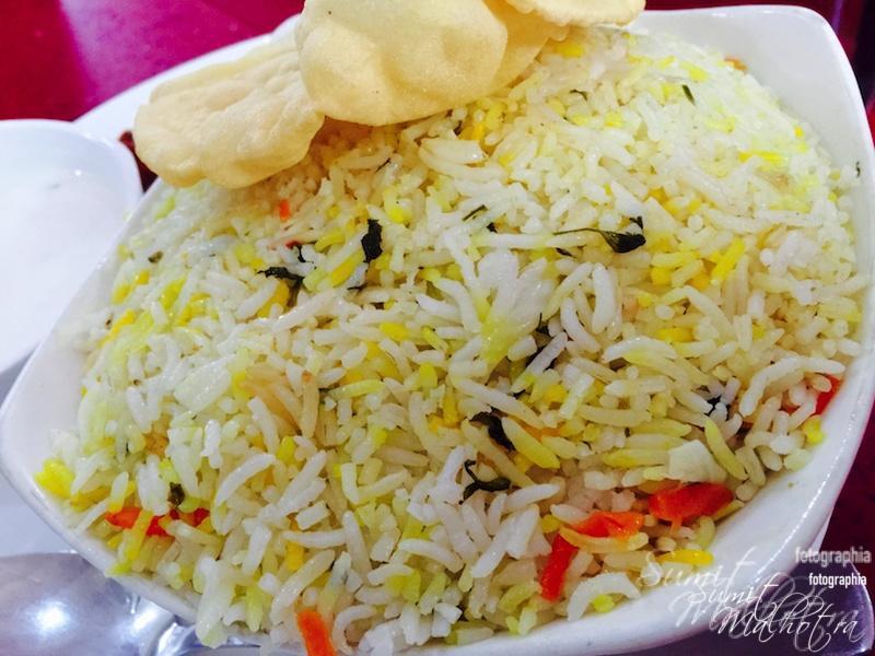 Malabar Spl Chicken Biryani @ Hotel Malabar Gurgaon