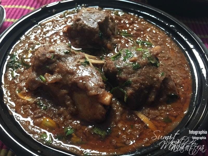 Nalli Nihari After I Drained Out the Excess Oil