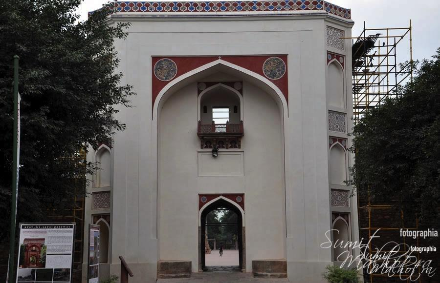 Gateway to Humayun's Tomb