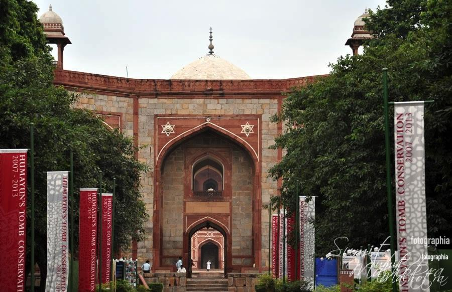 Second Main Arched Gateway to Humayun's Tomb