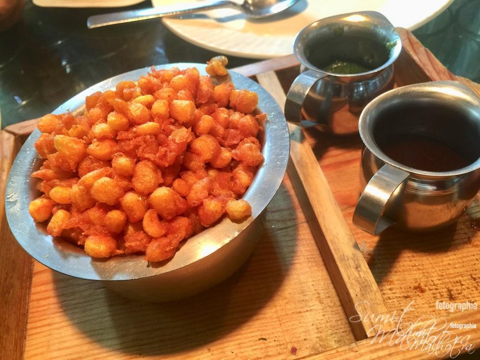 Crispy Corn & Bhel