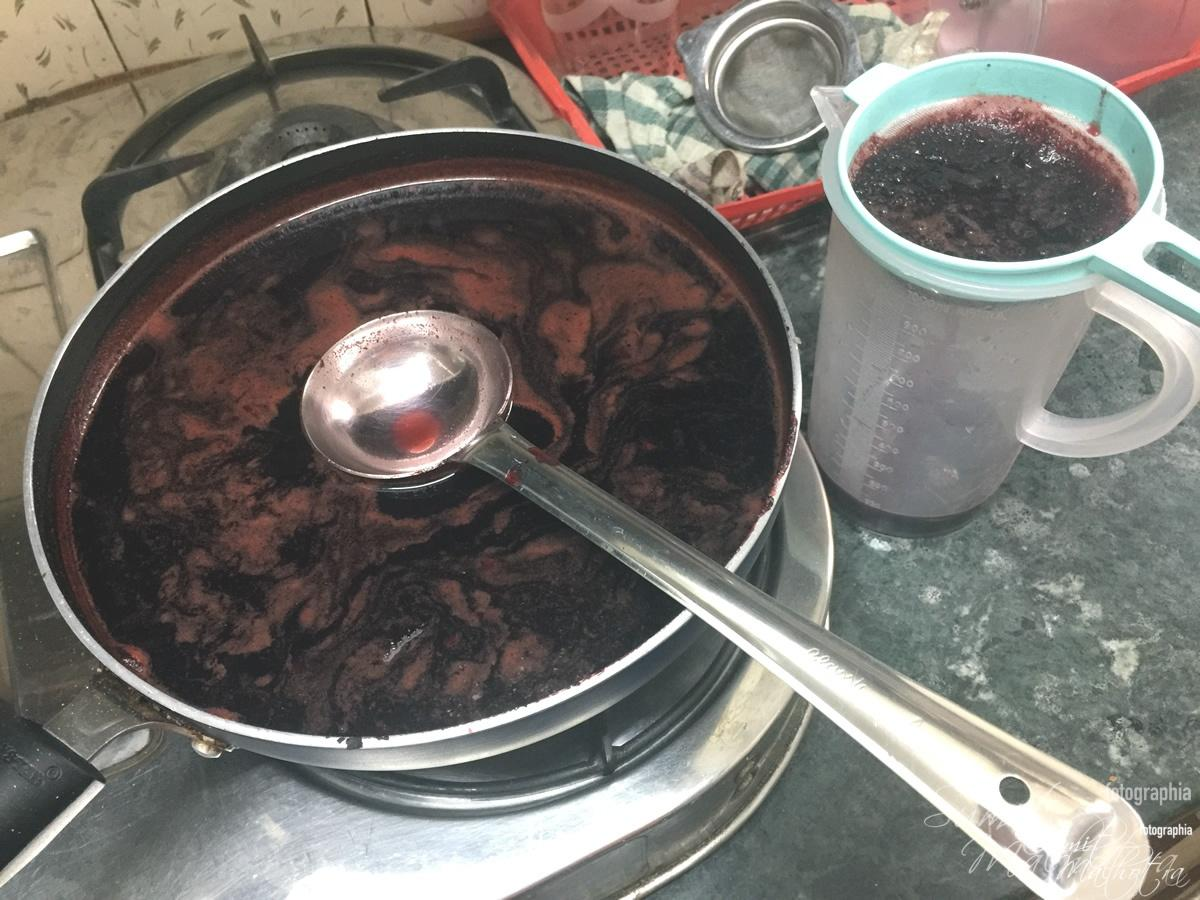 Kokum Syrup is Ready