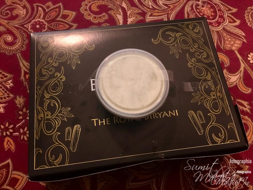 Behrouz Biryani as received