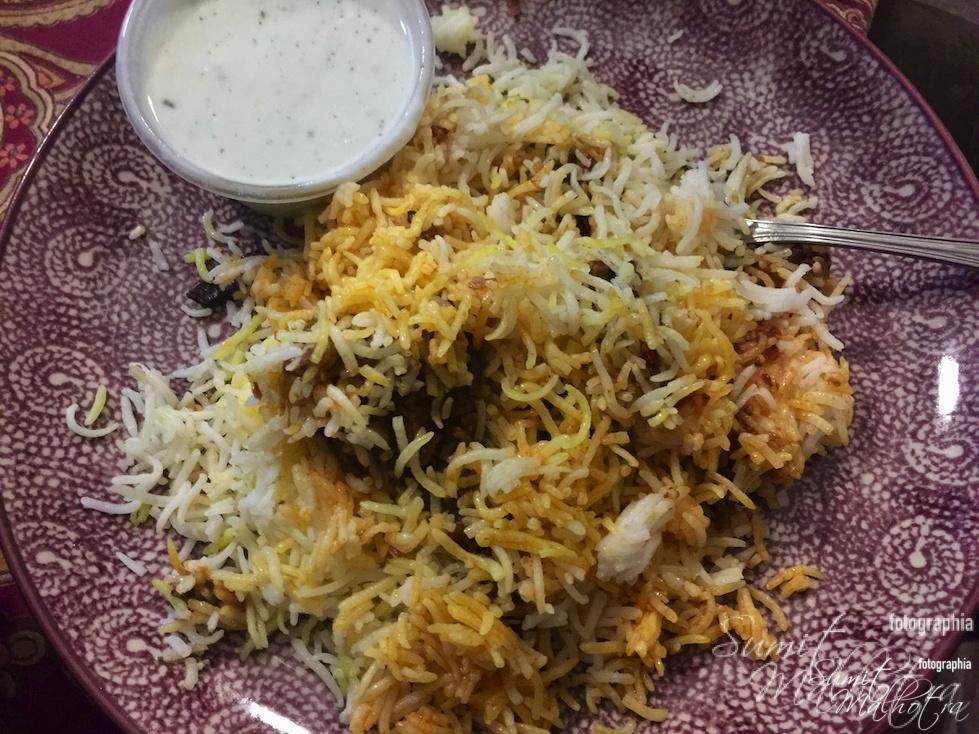 Behrouz Biryani Beaten by the Meat