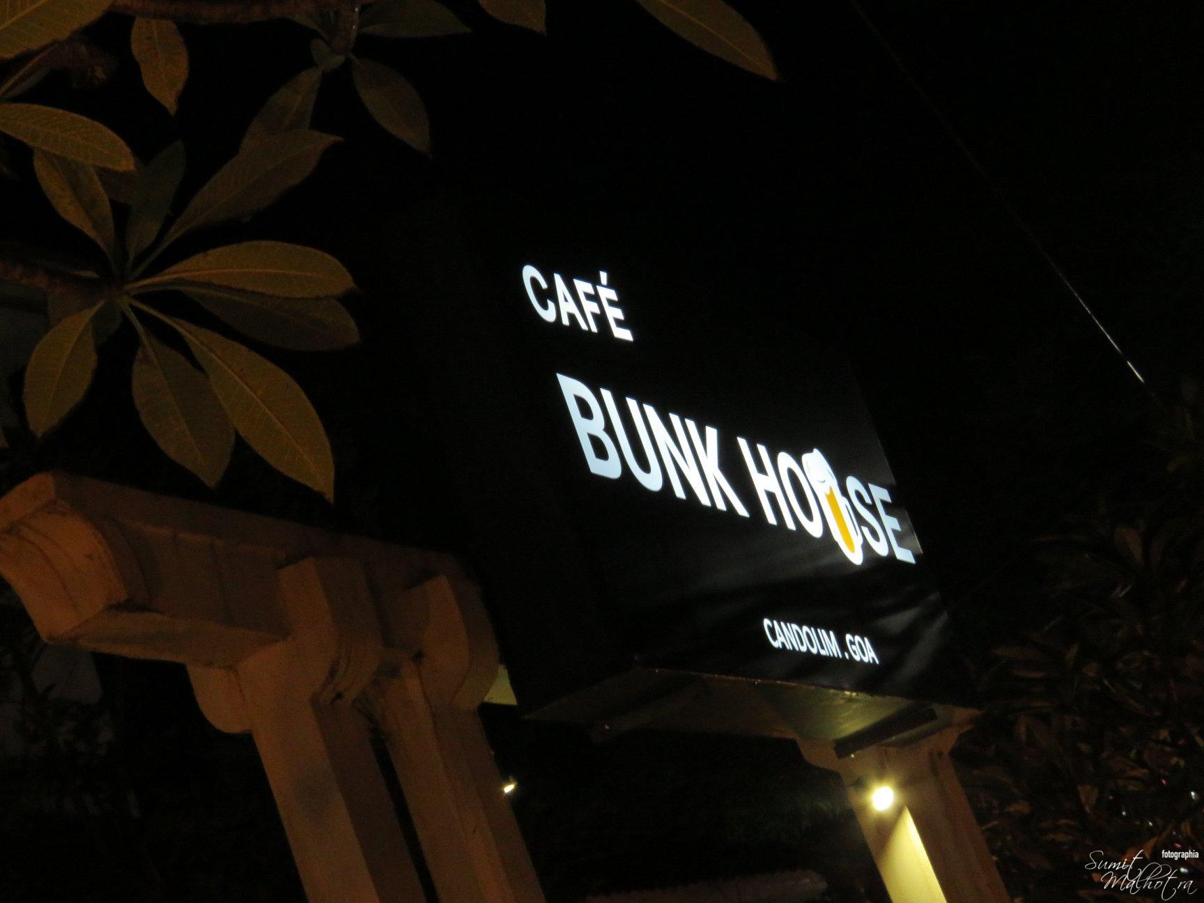 Cafe Bunk House Candolim