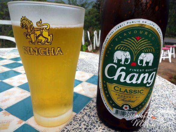 Chilled Chang Beer