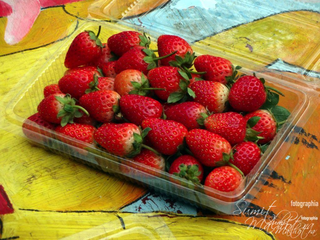 Ripened Strawberries