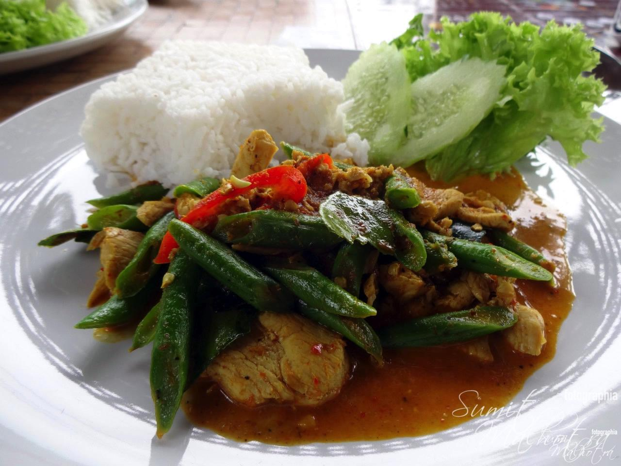 Thai Chicken in Green Curry