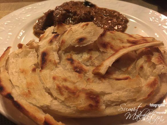 Malabar Parantha & Coorgi Chicken Curry