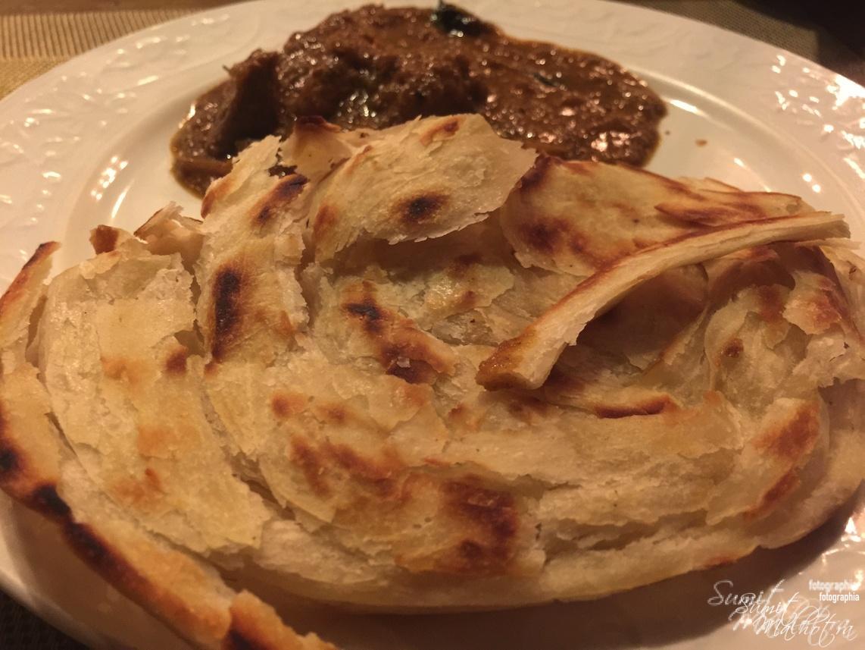 Malabar Parantha & Coorgi Chicken Curry