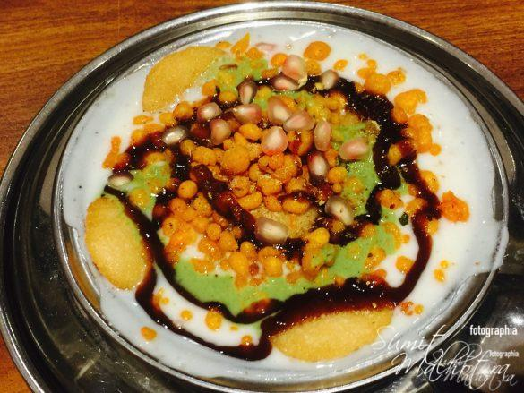 Delicious Idli Chaat