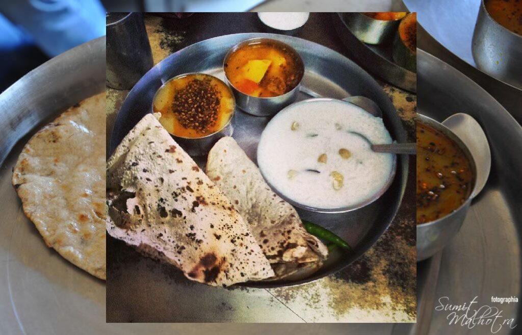 Thali at Pandit Vaishno Dhaba