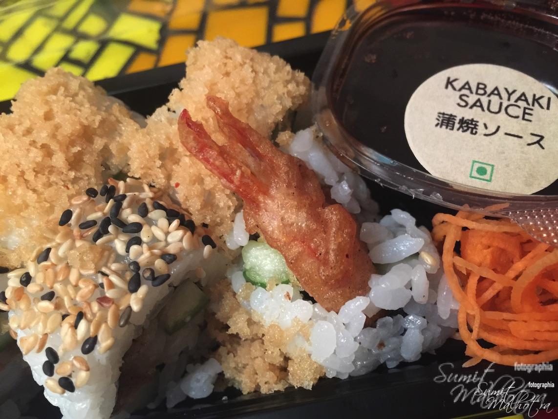 Prawns Tempura Kabayaki Sauce