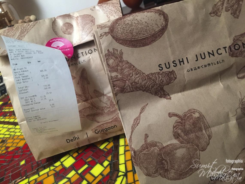 Food Packaging - Sushi Junction