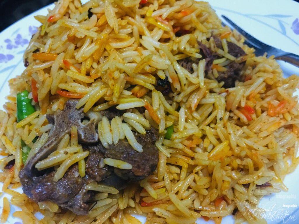 Mughlai Mutton Dum Biryani - Pasandah.in Gurgaon