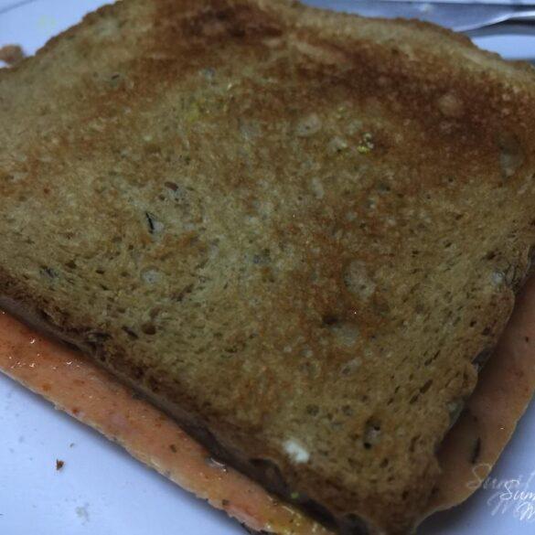 Chicken Ham Ricotta Sandwich