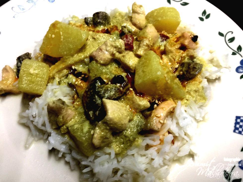 Thai Chicken in Green Curry