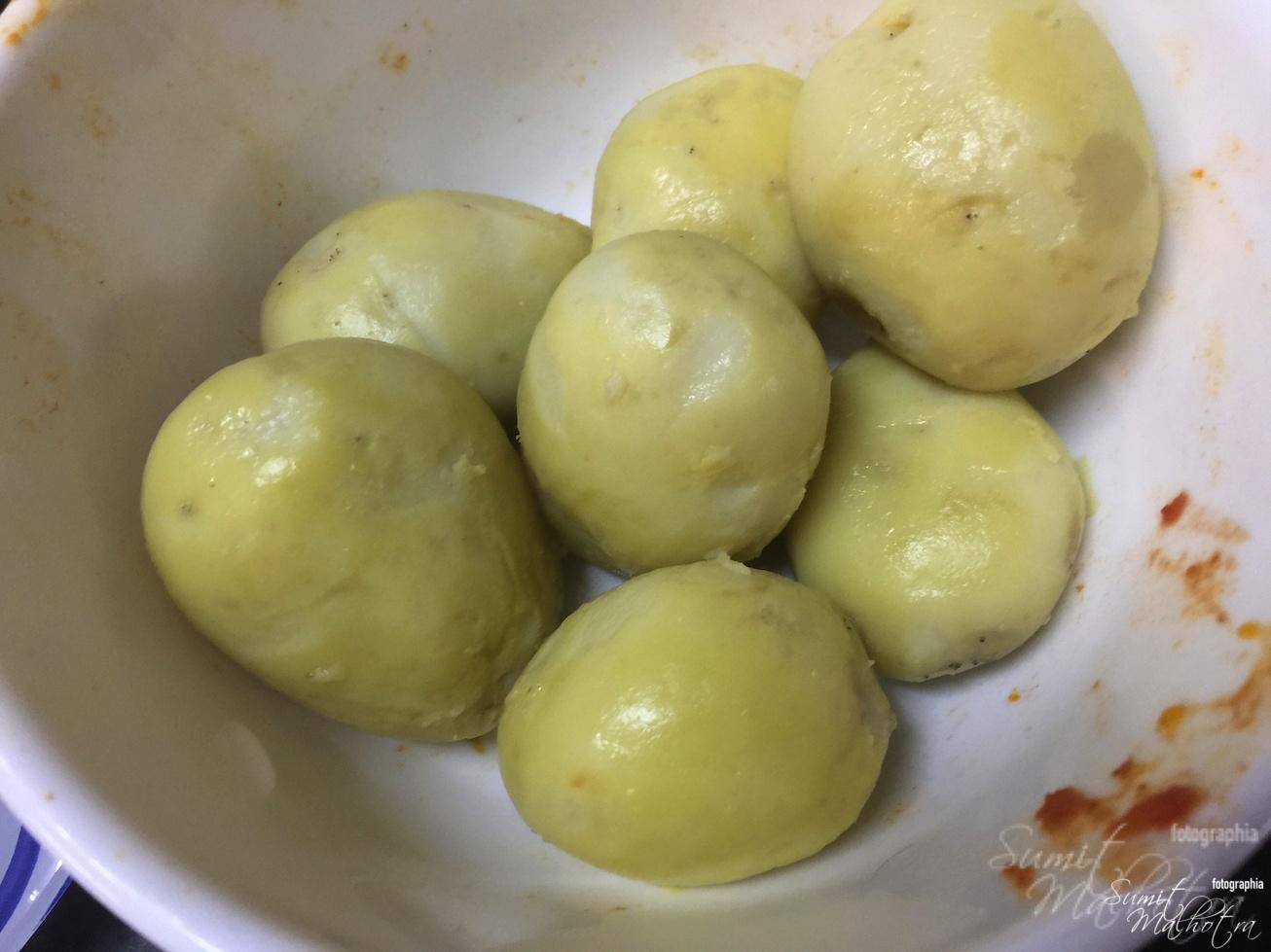 Boil & Peel Potatoes