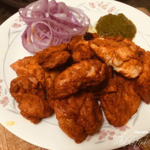 Chicken Tikka is Ready - Chicken Tikka Recipe