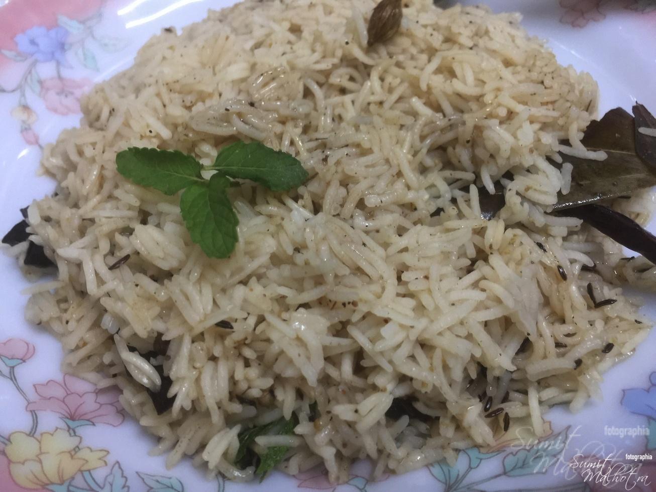 Chawal Garam Masala is Ready
