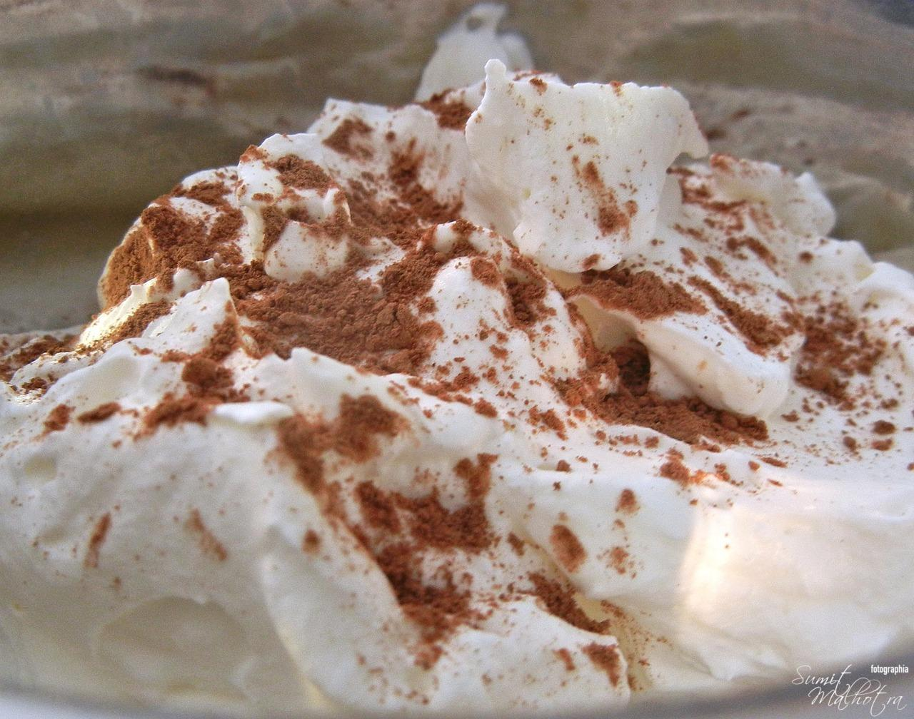 Chocolate Whipped Cream