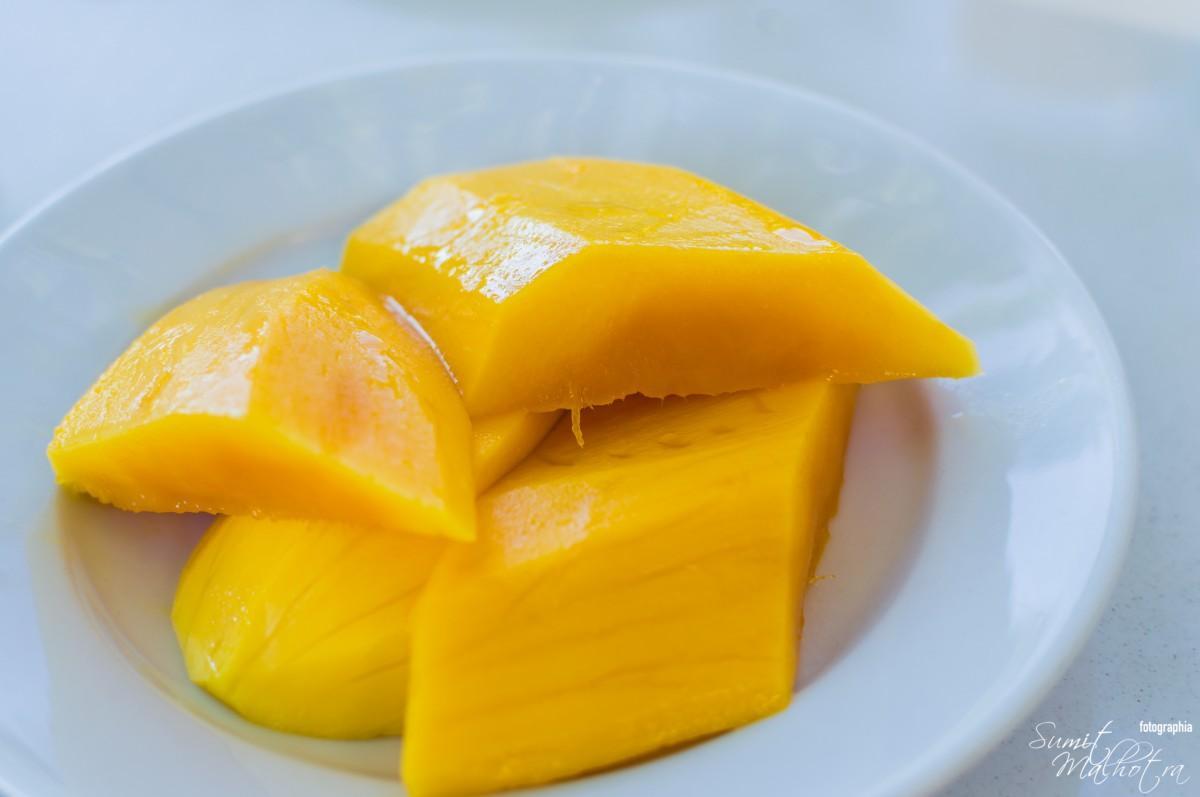Mangoes for mango lassi recipe