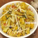 Adraki Gobi Recipe - Ginger Cauliflower Recipe