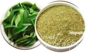 Curry Leaves Powder, Kadi Patta Churna. Curry Leaves Churn