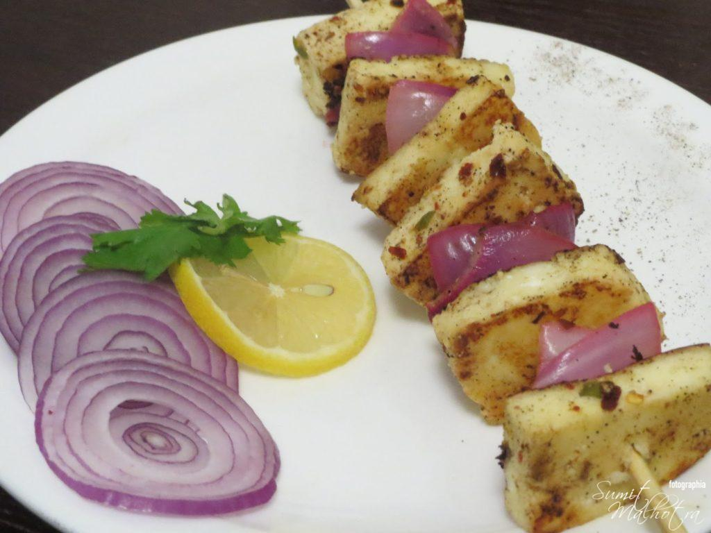 Paneer Kali Mirch or Paneer Kalimirch is Ready