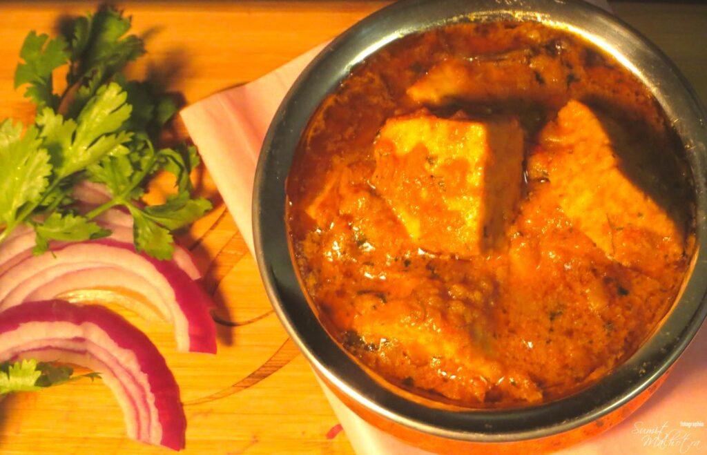 Punjabi Dhaba Style Paneer Masala Curry Recipe