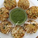 Sabudana Vada with Mint Chutney