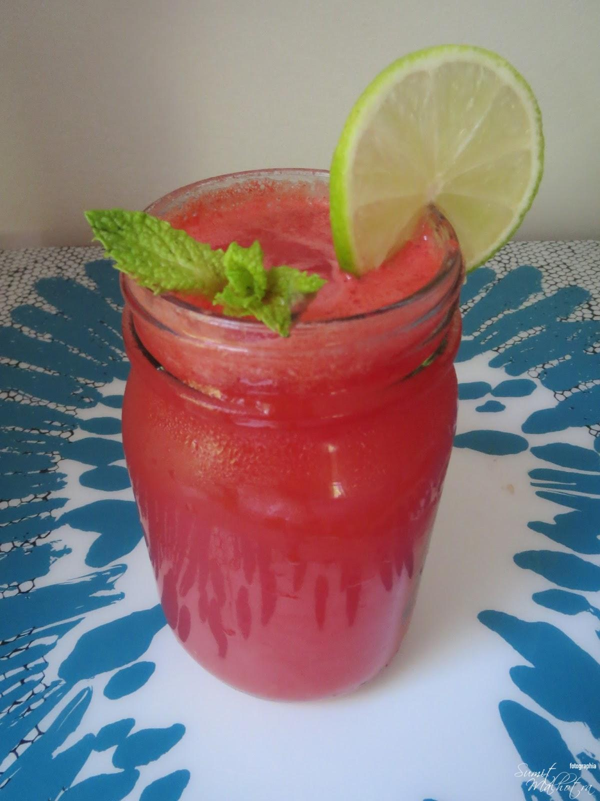 Watermelon Lemonade is Ready