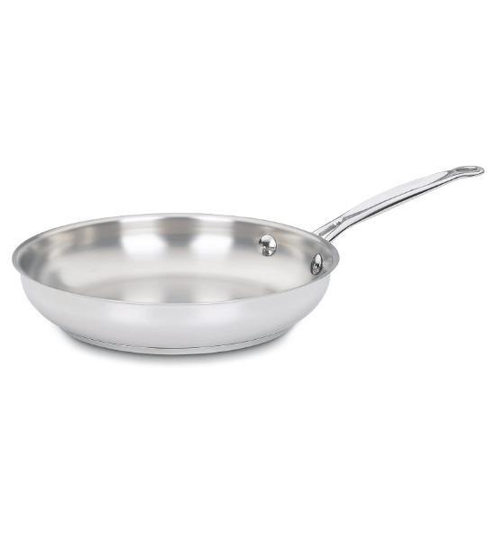 Cuisinart 722-24 Chef's Classic Stainless 10-Inch Open Skillet