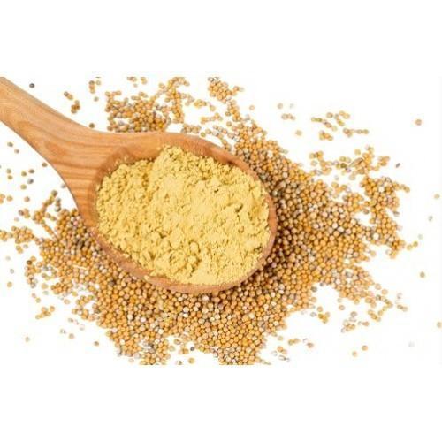 Homemade mustard powder
