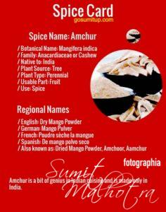 All About Amchur | Know Your Spice Amchoor or Mango Powder (Mangifera indica)