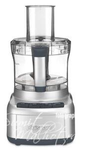 Cuisinart fp-8sv 350-watt food processor, silver