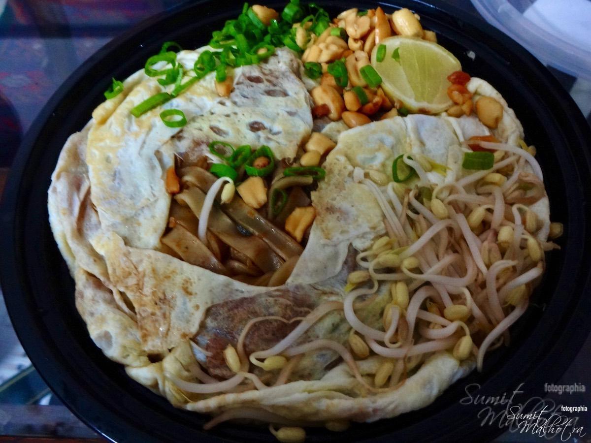 Pad Thai Noodles - Origami Gurgaon