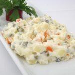 Tapas salad - ensalada rusa | russian salad
